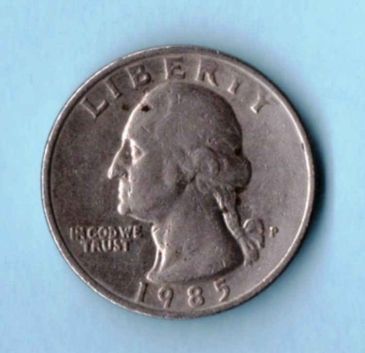 Image for 1985 P Washington Quarter