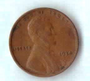 Image for 1934 P Lincoln Wheat Cent