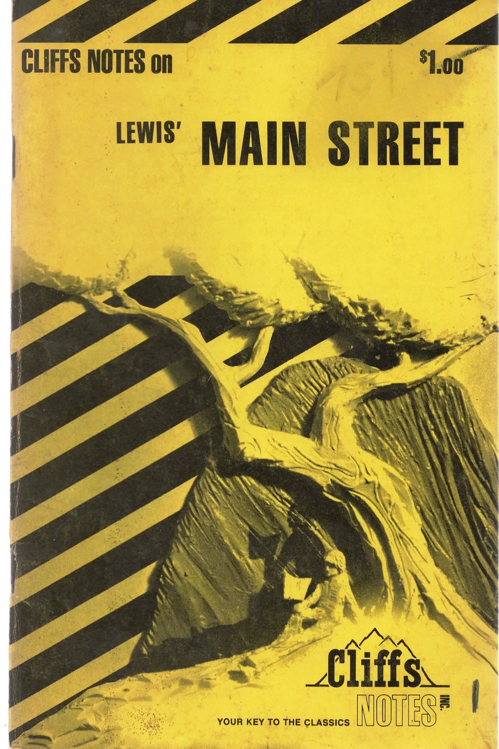 Image for Cliff Notes on Lewis' Main Street