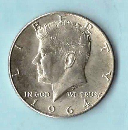 1976-D Choice BU Mint State Kennedy US Half Dollar coin