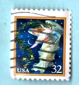 Image for Midnight Angel (Christmas Stamp)