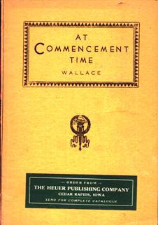 Image for At Commencement Time (Bugbee's Popular Books series)