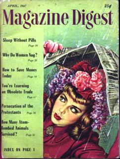 Image for MAGAZINE DIGEST MAGAZINE (April 1947)