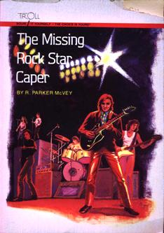 Image for The Missing Rock Star Caper