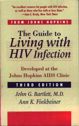 Image for The Guide to Living With HIV Infection: Developed at the Johns Hopkins AIDS Clinic