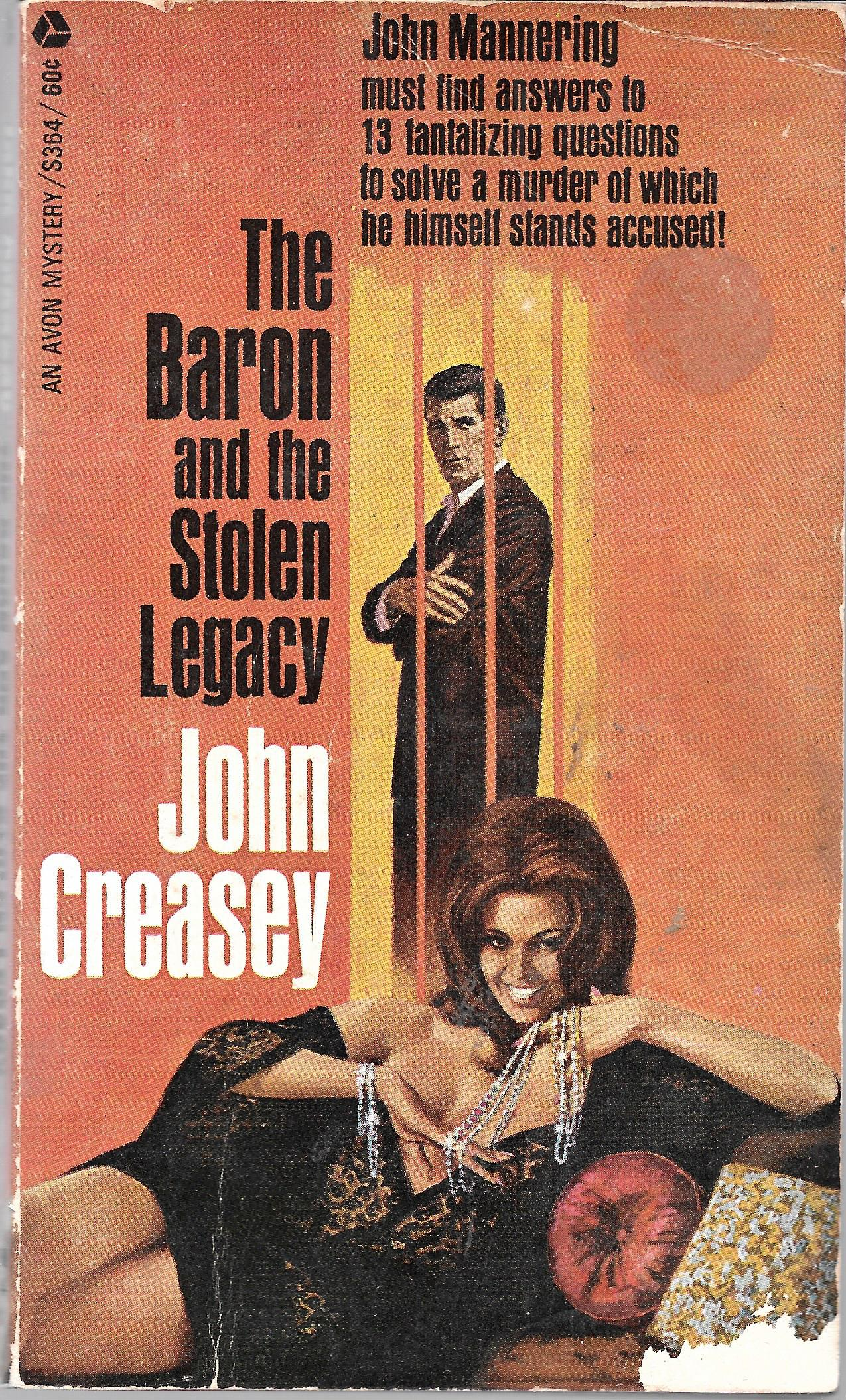 Image for The Baron And The Stolen Legacy
