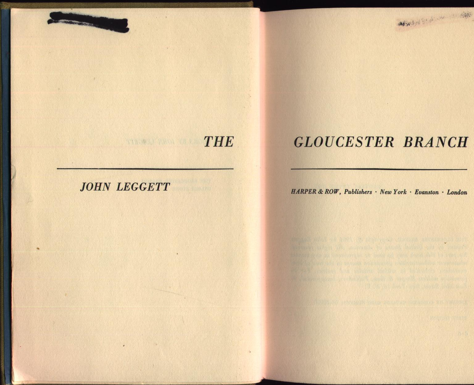 Image for The Gloucester Branch