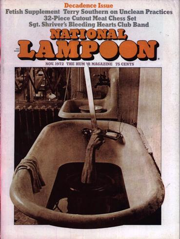 Image for NATIONAL LAMPOON MAGAZINE NOVEMBER 1972