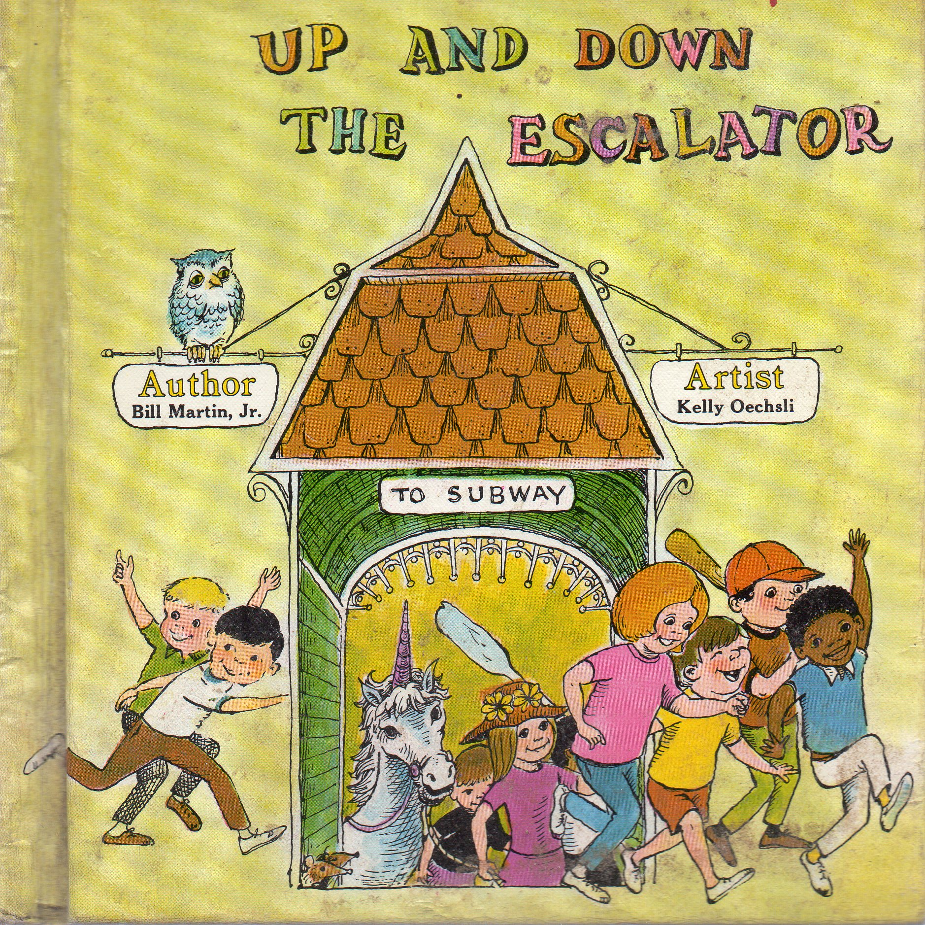 Image for Up and Down the Escalator (Bill Martin Instant Reader)