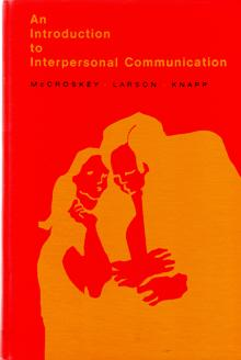 Image for An Introduction to Interpersonal Communication
