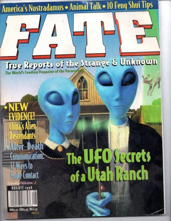 Image for Fate Magazine August 1998