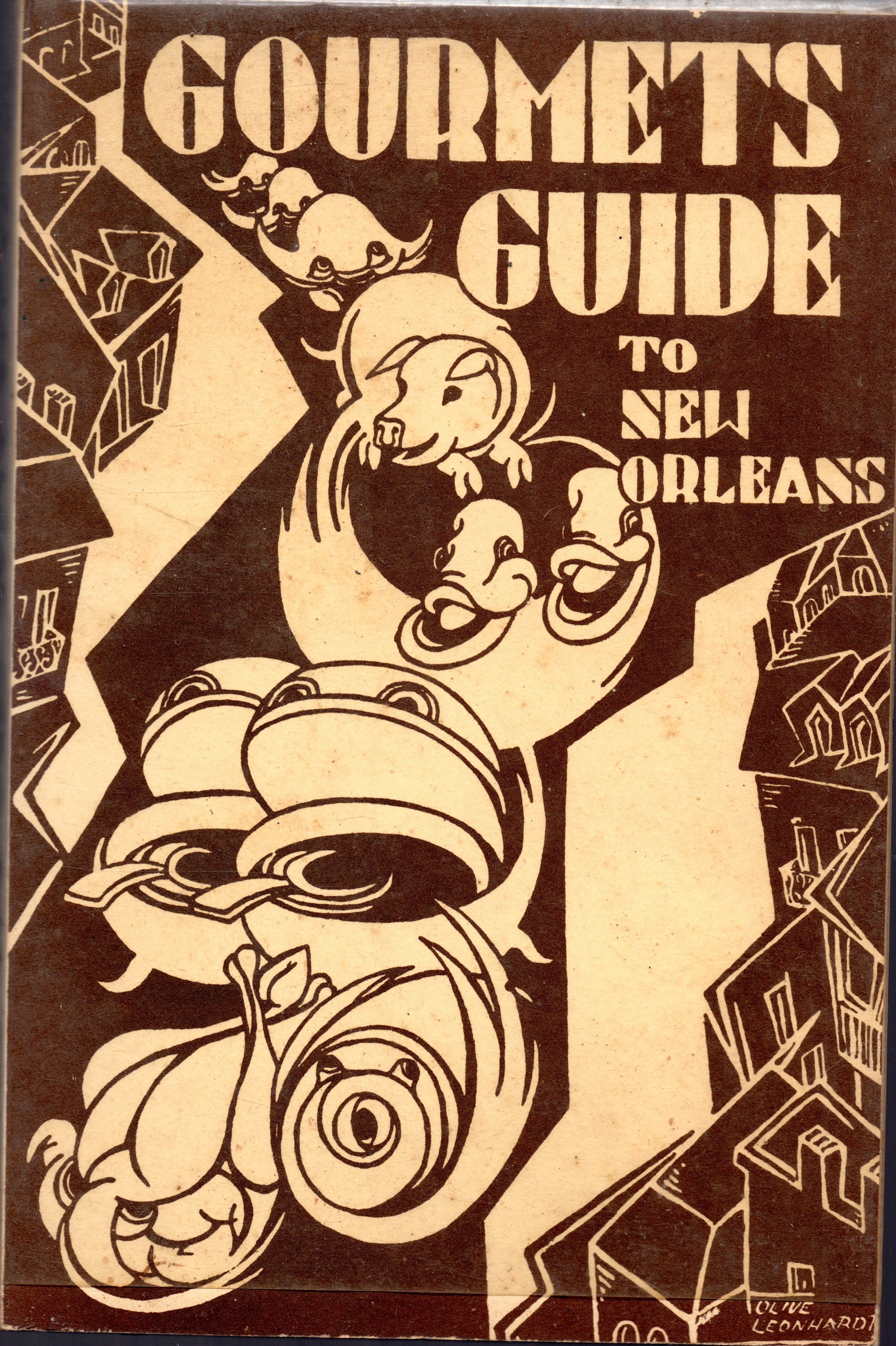 Image for Gourmets Guide To New Orleans