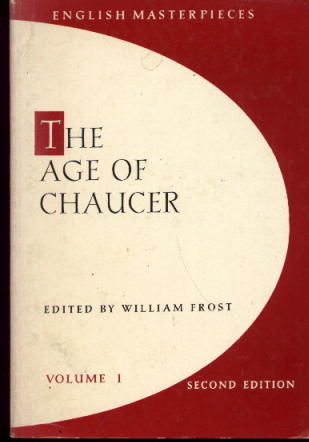 Image for The Age of Chaucer: English Masterpieces Volume I