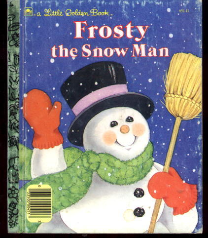 Image for Frosty the Snow Man: A Little Golden Book