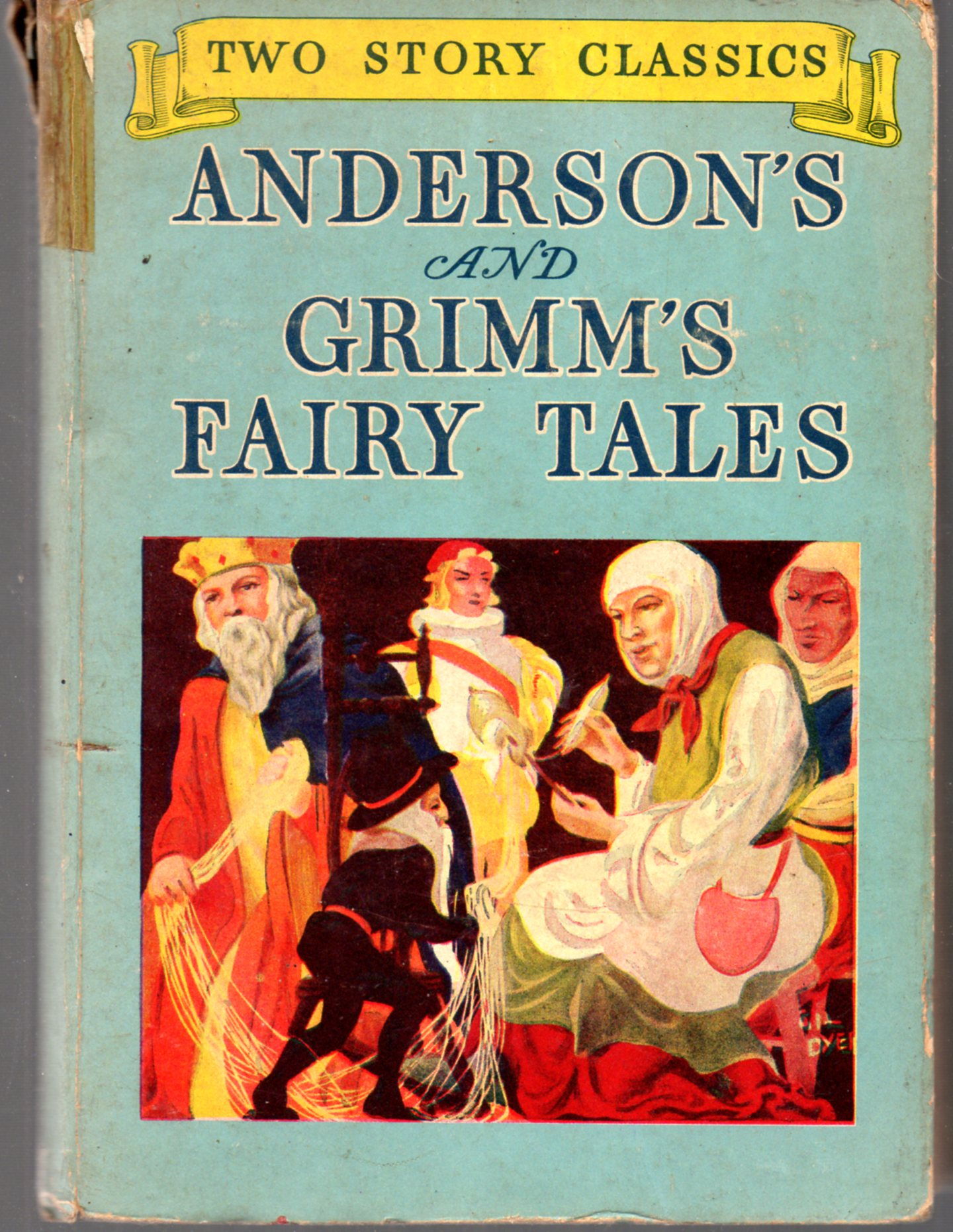Image for Anderson's and Grimm's Fairy Tales