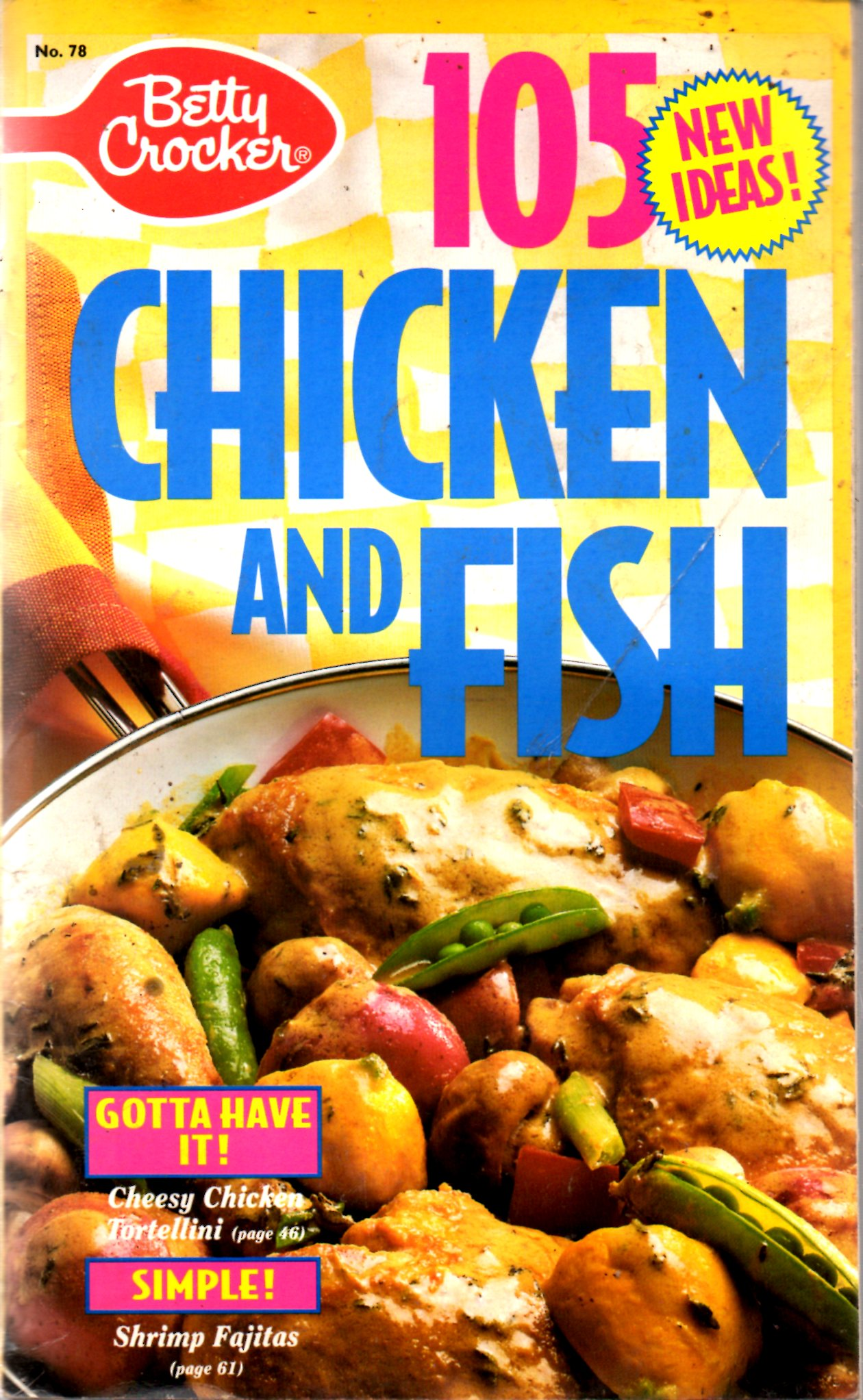 Image for 105 New Ideas For Fish And Chicken