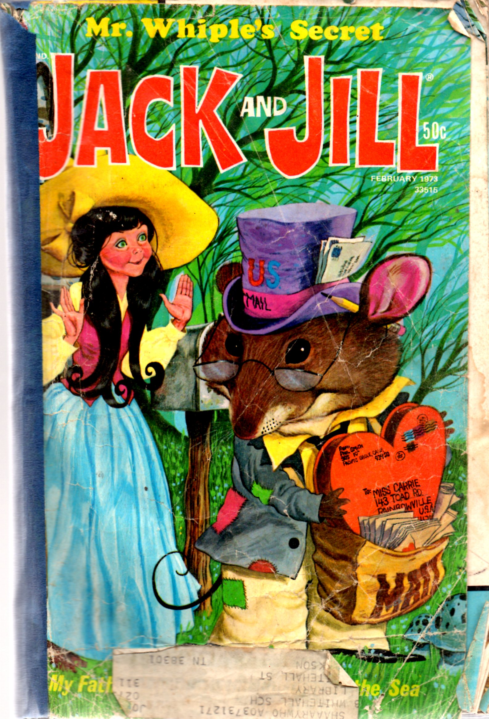 Image for Jack and Jill Magazine: February 1973