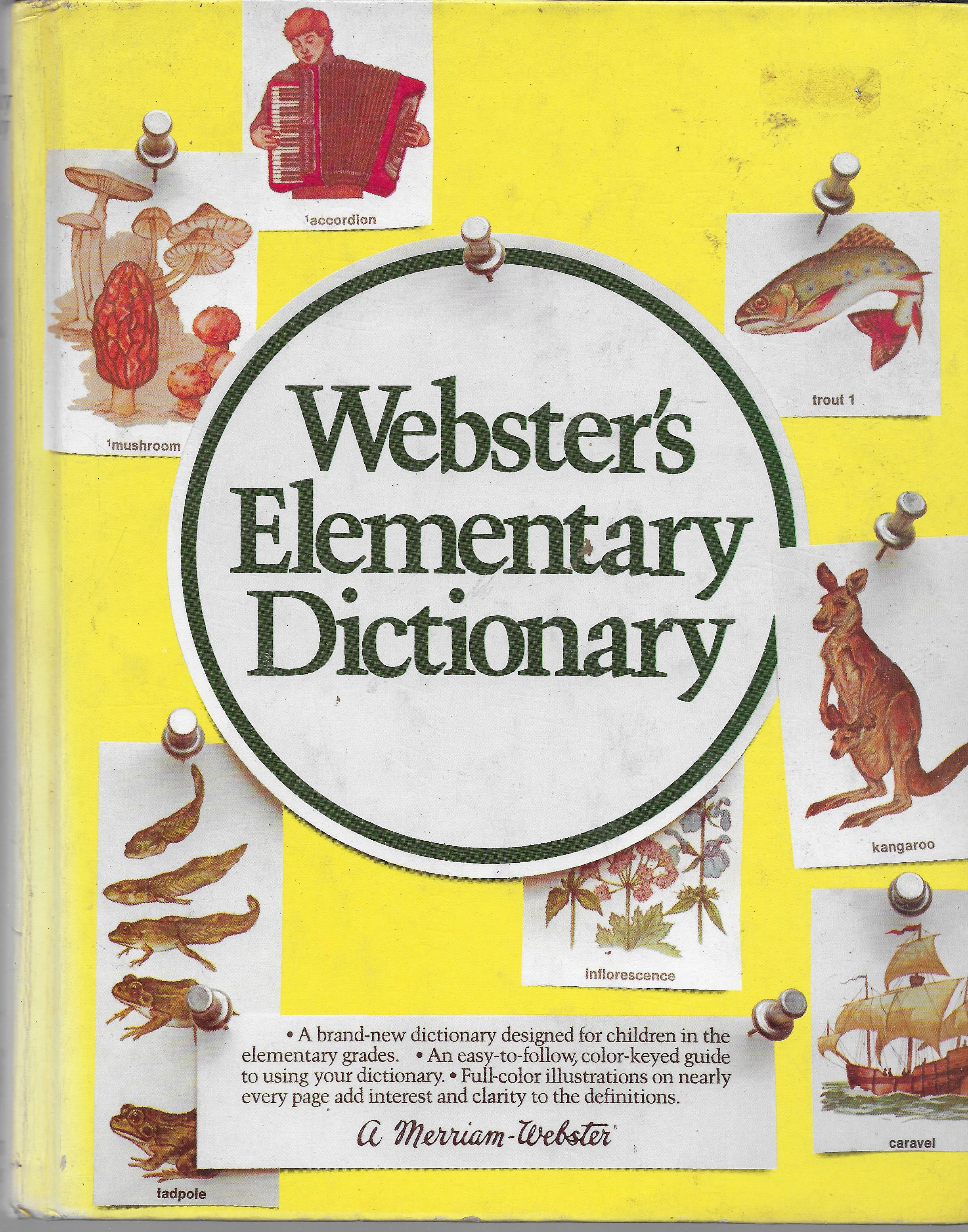 Image for Webster's Elementary Dictionary