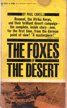 Image for The Foxes Of The Desert