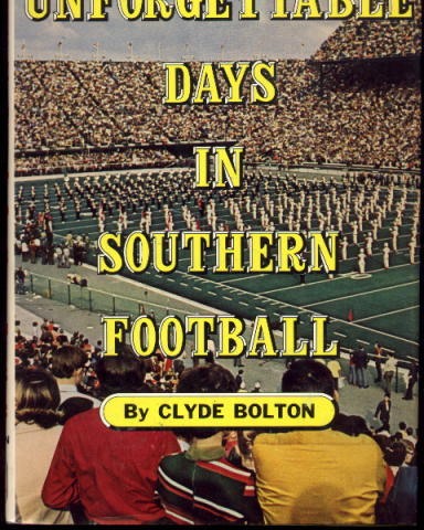 Image for Unforgettable Days in Southern Football