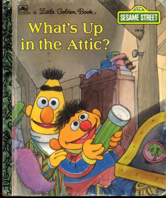 Image for What's Up in the Attic? (A Little Golden Book)