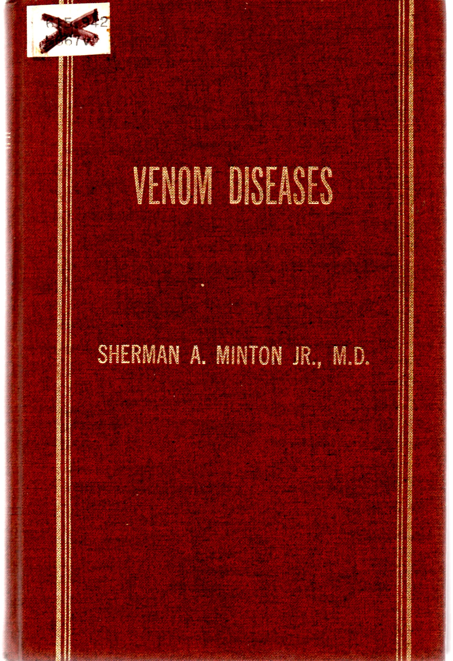 Image for Venom Diseases