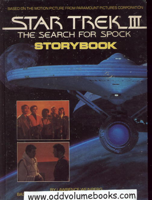 Image for Star Trek III: The Search For Spock Storybook