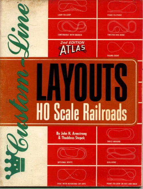 Image for Atlas Custom-Line Layouts For HO Scale Railroads