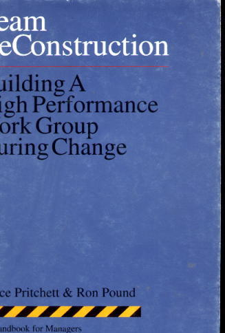Image for Team ReConstruction: Building A High Performance Work Group During Change