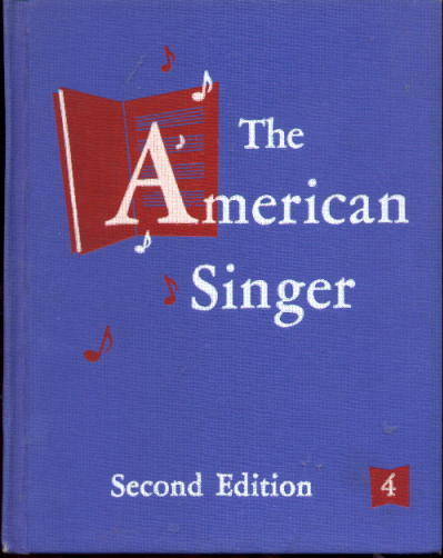 Image for The American Singer Second Edition Book Four