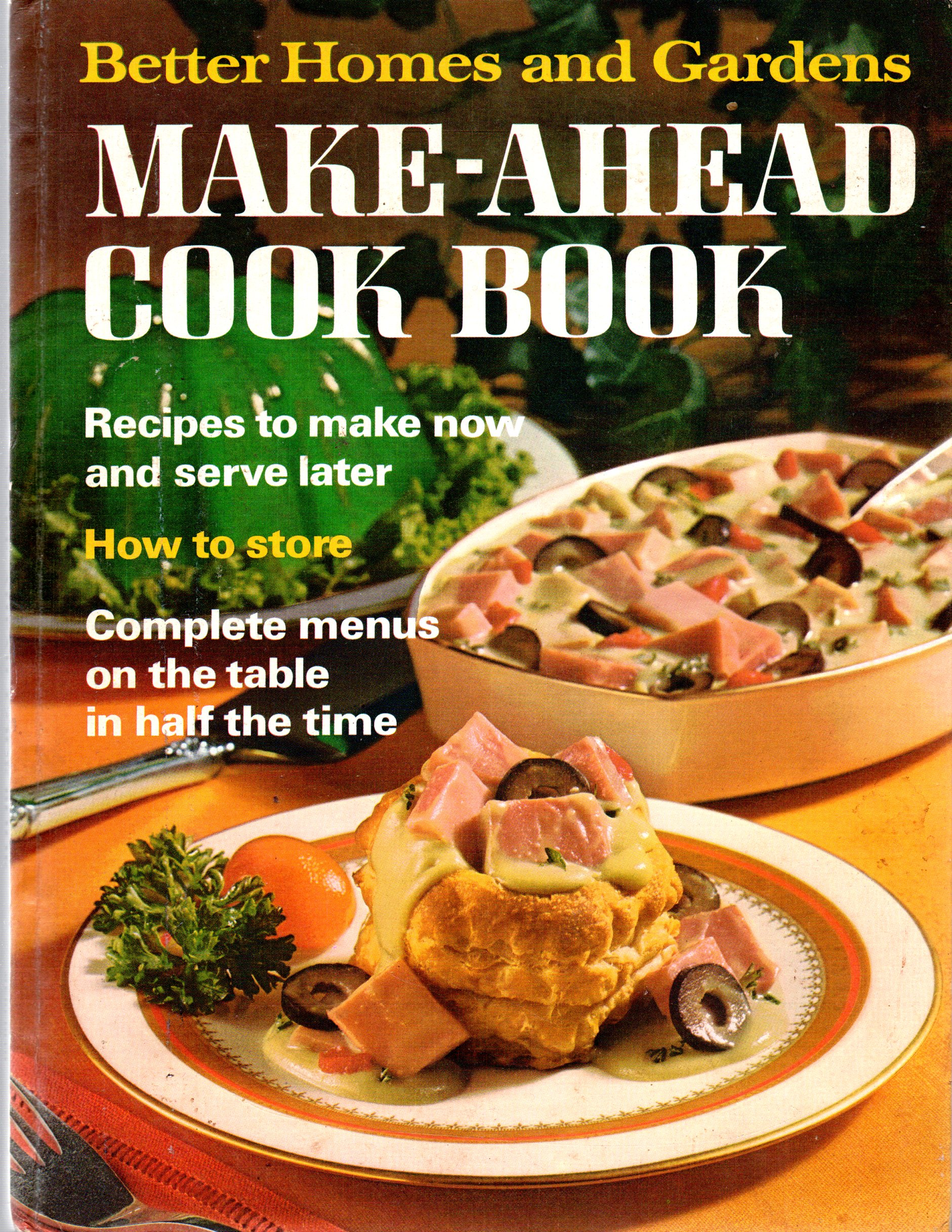 Image for Better Homes & Gardens Make-Ahead Cook Book