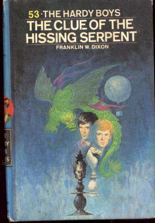 Image for The Clue of the Hissing Serpent (Hardy Boys Mystery Series No. 53)