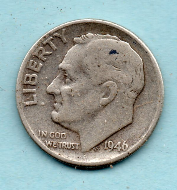 Image for 1946 P Roosevelt Dime