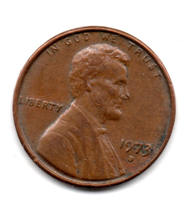 Image for 1973 D LINCOLN CENT
