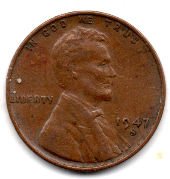 Image for 1947 S LINCOLN CENT