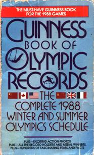 Image for 1988 Guinness Book of Olympic Records
