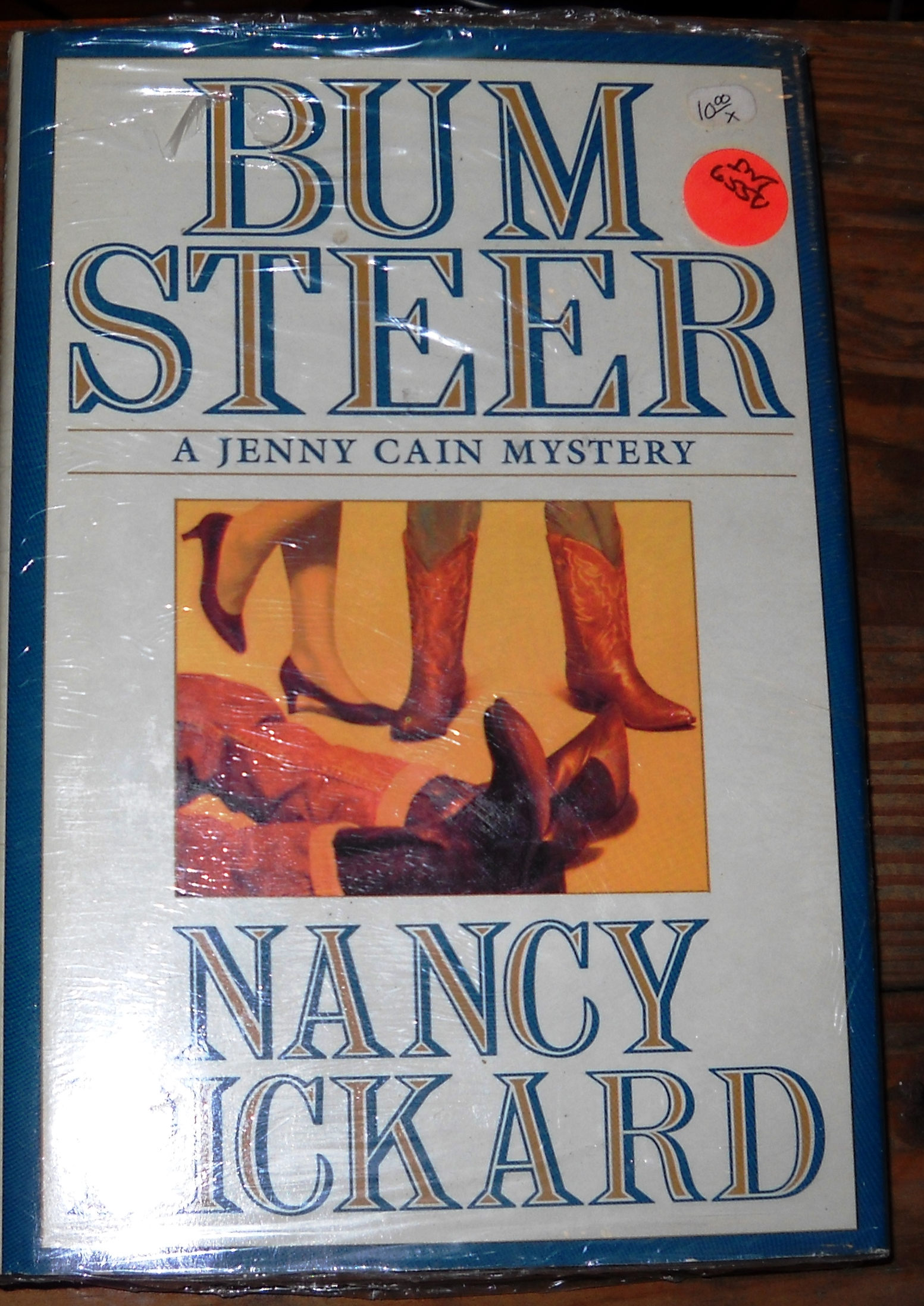 Image for Bum Steer: A Jenny Cain Mystery