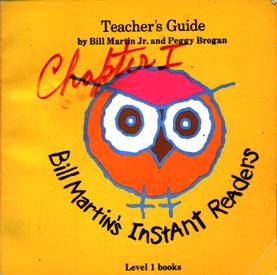 Image for Bill Martin's Instant Readers Teacher's Guide Level 1 Books