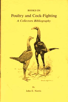 Image for Books on Poultry and Cock-Fighting: A Collectors Bibliography