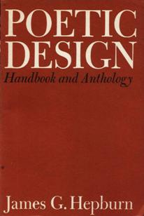Image for Poetic Design: Handbook And Anthology