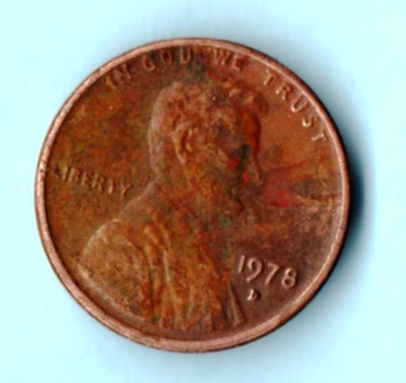 Image for 1978 D Lincoln Wheat Cent